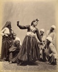 almée Pascal Sebah Egipto, 1875