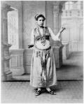 almee danzante Zangaki y H. Arnoux finales siglo XIX