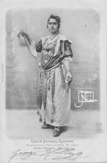 bailarina egipcia exp universal 1900