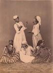 Bailarinas árabes Pascal Sebah finales siglo XIX