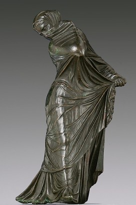 bailarinavelada siglo 3 o 2 a.C. Grecia