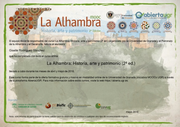 certificado alhambra