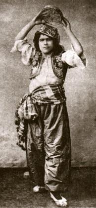 Köçek del siglo XIX