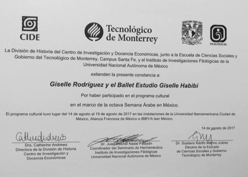 Giselle Habibi – Bio   Danza Oriental en Egipto