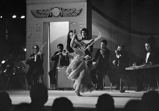 souhair zaki bailando para nixon en el palacio presidencial 1972