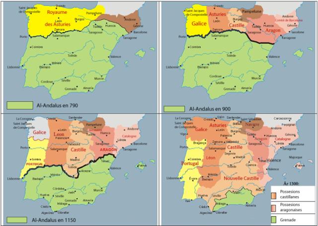 mapa al-andalus