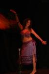 La solista Alejandra Rogel.