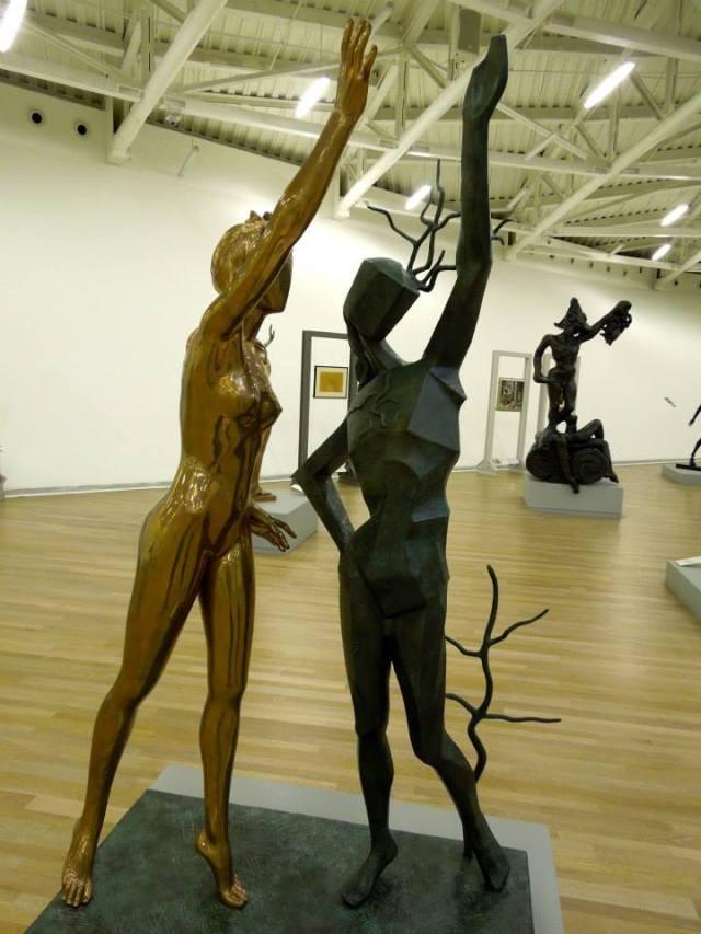 Homenaje a Terpíscore, la musa de la danza. (Salvador Dalí).