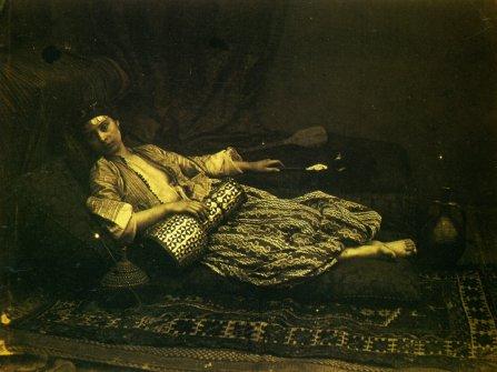 reclining odalisque