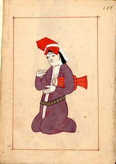 mujer con dümbelek