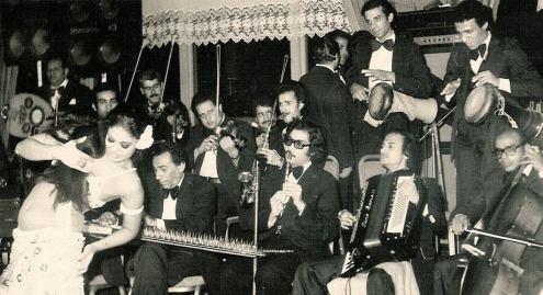 Orquesta siria de los años 80.