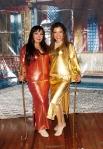 Giselle Habibi y Carmen Figueroa