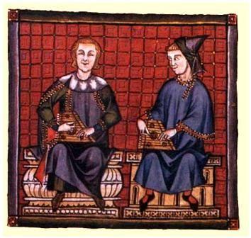 Músicos sefaradíes en la España medieval.