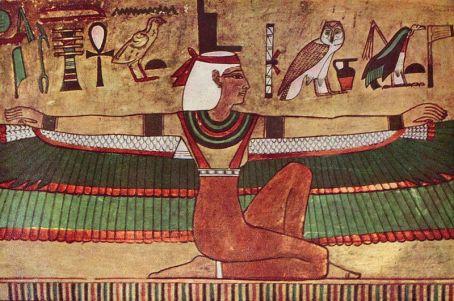 Pintura mural. 1360 a.C.