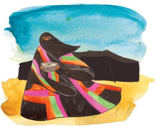 tunica beduina